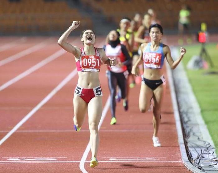 Ảnh đời thường xinh đẹp của nữ VĐV Nam Định lần đầu dự SEA Games 9