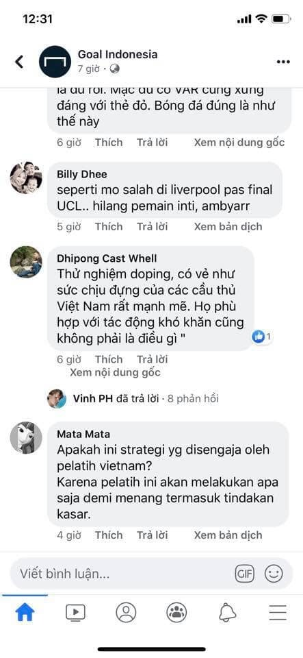 CVĐ Indonesia yêu cầu kiểm tra doping U22 Việt Nam