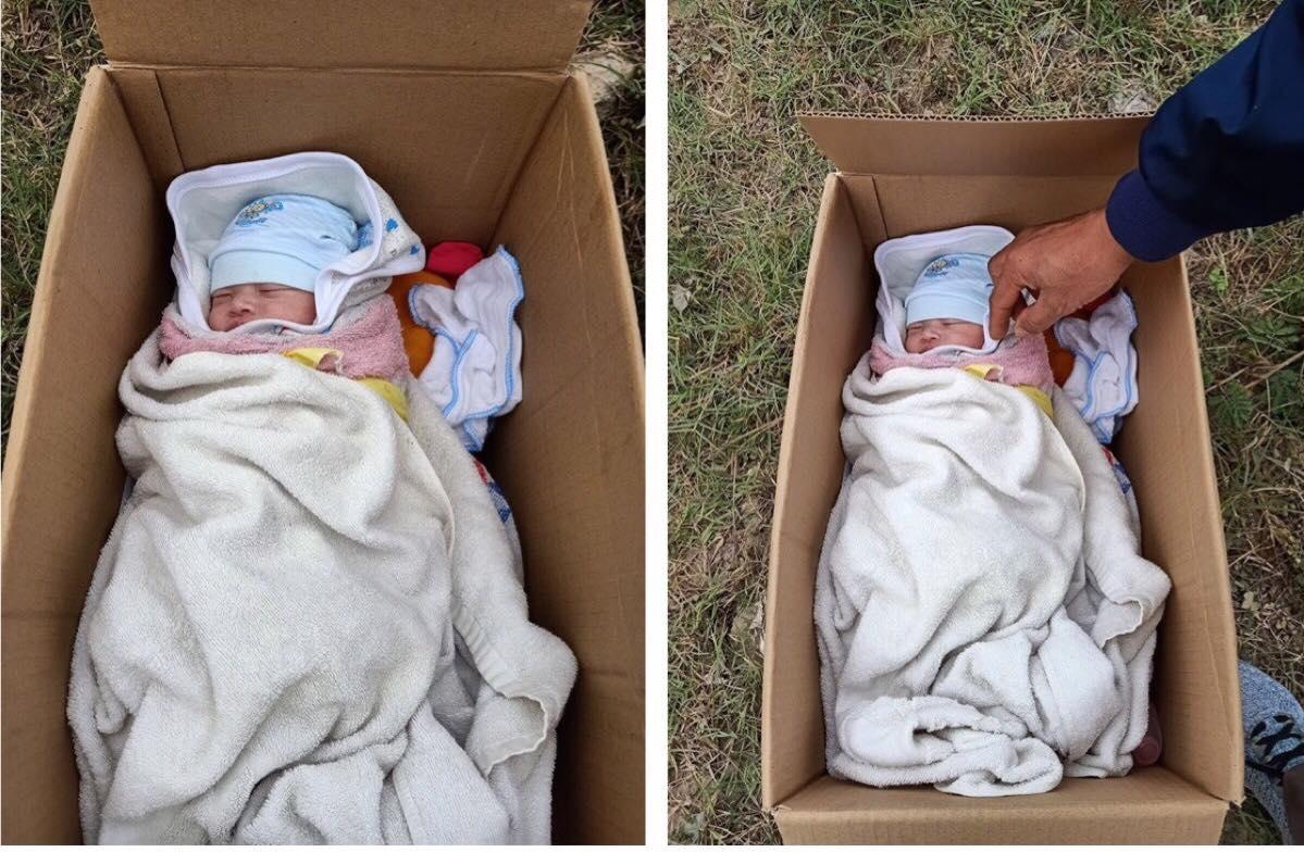 Bé gái sơ sinh bị bỏ rơi bên vệ đường cùng tờ giấy nhắn nhủ nhờ nuôi hộ