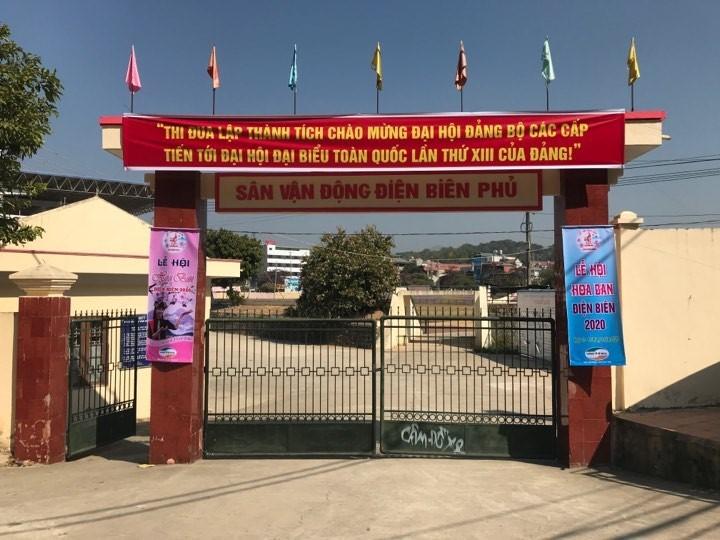 Dựng rạp ở sân vận động để xét xử vụ sát hại nữ sinh giao gà Điện Biên
