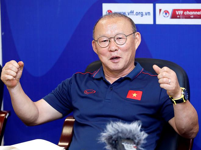 HLV Park Hang Seo tiết lộ mục tiêu của U23 Việt Nam ở giải châu Á