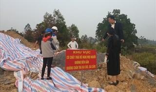 Danh tính thủ phạm đổ chất thải nguy hại ở Sóc Sơn