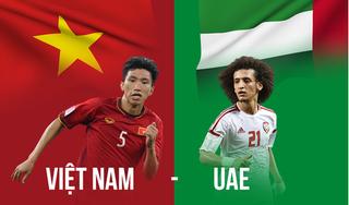 Tuyển UAE  họp khẩn trước trận gặp Việt Nam ở vòng loại World Cup 2022