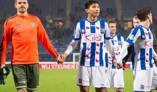 Đoàn Văn Hậu ra sân, SC Heerenveen giành chiến thắng ấn tượng