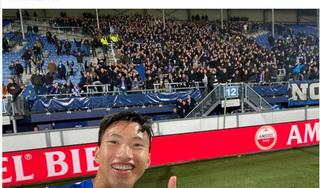 Văn Hậu được ra sân lần đầu trong đội một Heerenveen, báo Thái đồng loạt đưa tin