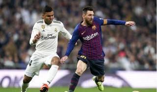Barcelona và Real Madrid bất phân thắng bại ở trận siêu kinh điển