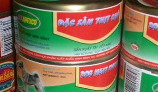 Sự thật thông tin xuất hiện xưởng thịt chó đóng hộp ở Ninh Bình