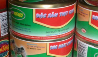 Thông tin bất ngờ về sản phẩm thịt chó đóng hộp ở Ninh Bình