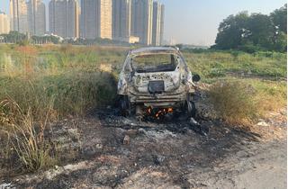 Người phụ nữ nước ngoài bị sát hại, cướp tài sản, ô tô bị đốt rụi