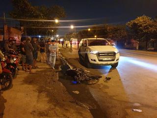 Tai nạn liên hoàn đúng 12h đêm khiến 3 người thương vong