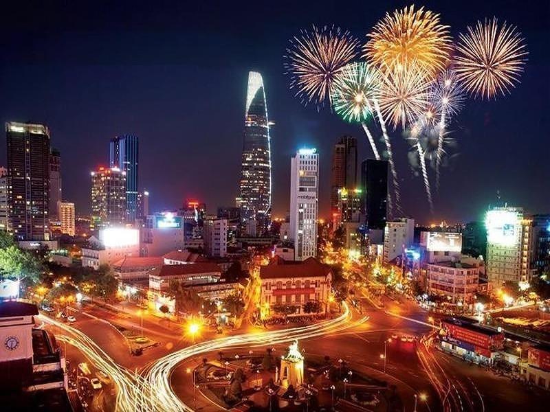 dịp Tết Dương lịch (01/01) không thuộc trường hợp bắn pháo hoa theo quy định của Chính phủ.
