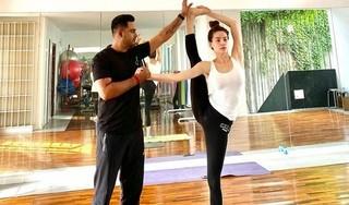 Hồ Ngọc Hà khoe trình độ Yoga đạt đến 'cực đỉnh'