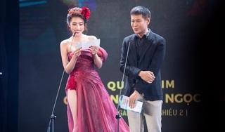 Hoa hậu Dương Yến Nhung đọc nhầm tên quay phim thành bộ phận nhạy cảm