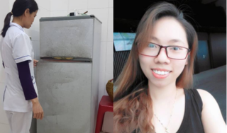 Khai quật tử thi vụ em gái đầu độc chị họ bằng trà sữa ở Thái Bình