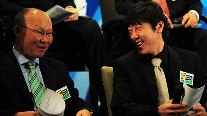HLV Shin Tae Yong được kỳ vọng là đối thủ xứng tầm của HLV Park Hang Seo