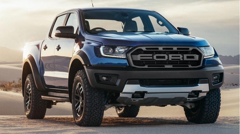 Ford Ranger Raptor sẽ được 'lên đời' động cơ V8