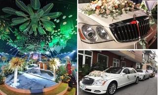 Đám cưới 54 tỷ đồng ở Quảng Ninh: Choáng ngợp dàn xe siêu sang biển 'tứ quý'