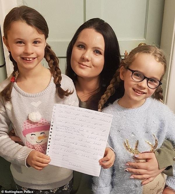 Hàng ngàn người thức tỉnh khi đọc bức thư của bé gái gửi tài xế say rượu