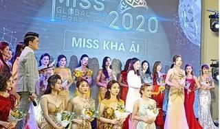 Thi chui 'Miss Global Her Beauty; bị phạt bao nhiêu tiền?