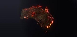 Thực hư bức hình toàn cảnh cháy rừng tại Úc khiến cả thế giới chấn động