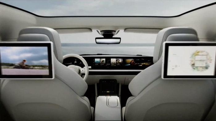 Hãng Sony gây sốc khi ra mắt xe điện đầu tiên mang tên Vision-S2