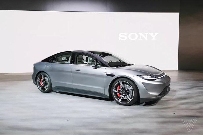 Hãng Sony gây sốc khi ra mắt xe điện đầu tiên mang tên Vision-S3