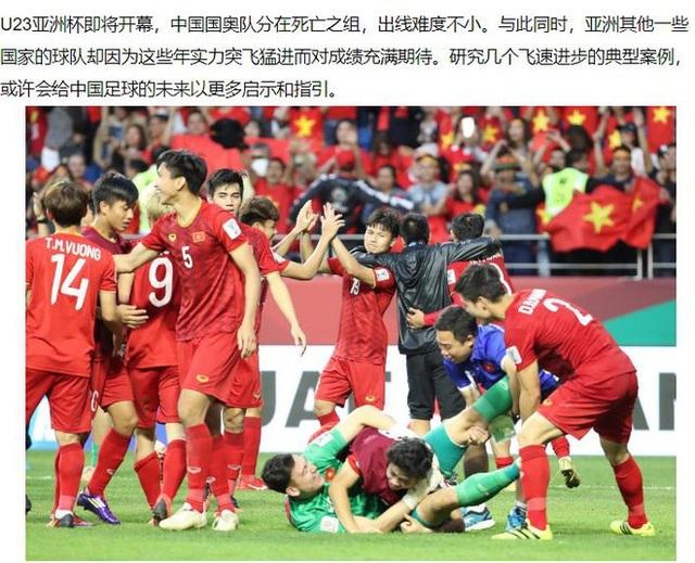 Báo Trung Quốc bỗng dưng dành mỹ từ cho bóng đá Việt Nam vì đâu?