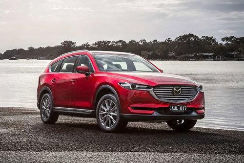 Mazda CX-8 2020 giá từ 1 tỷ đồng, thêm loạt nâng cấp2
