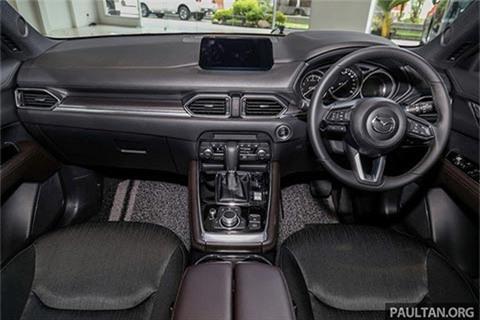 Mazda CX-8 2020 giá từ 1 tỷ đồng, thêm loạt nâng cấp