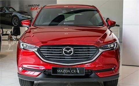Mazda CX-8 2020 giá từ 1 tỷ đồng, thêm loạt nâng cấp3