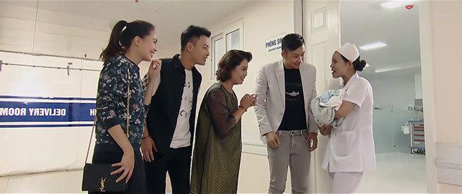 Hoa hồng trên ngực trái tập cuối: San sinh con trai, Khuê và Bảo về bên nhau