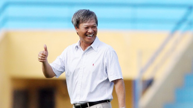 HLV Lê Thụy Hải đặt niềm tin vào thầy trò HLV Park Hang Seo