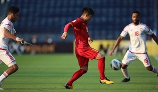 U23 Việt Nam chia điểm với U23 UAE trong trận ra quân
