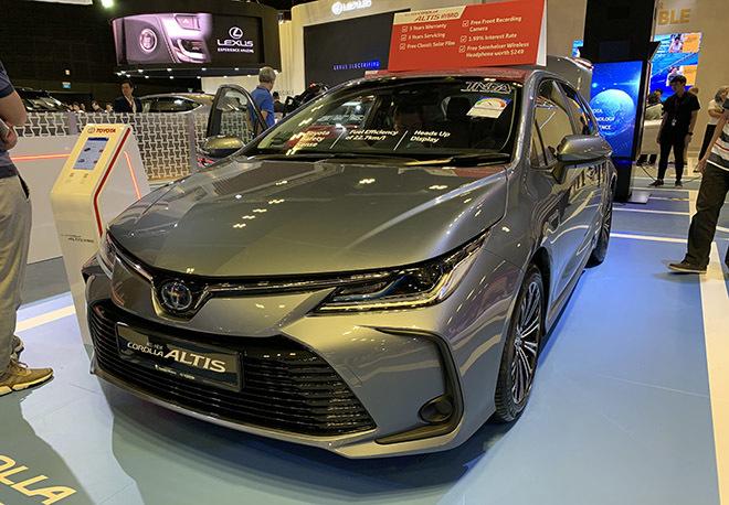 Toyota Corolla Altis 2020 hoàn toàn mới, nhiều nâng cấp2