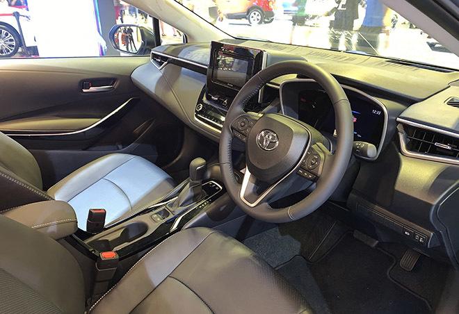 Toyota Corolla Altis 2020 hoàn toàn mới, nhiều nâng cấp3