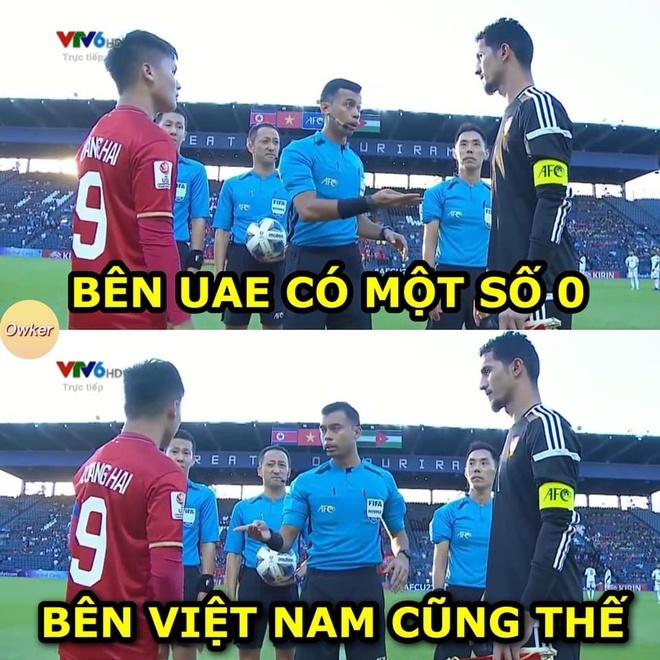Ảnh chế hài hước trận U23 Việt Nam - U23 UAE9
