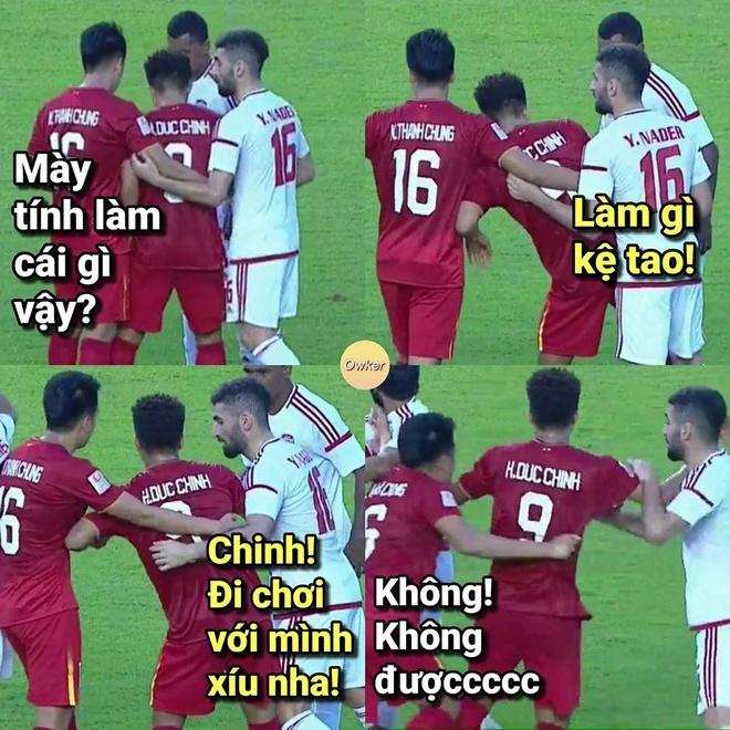 Ảnh chế hài hước trận U23 Việt Nam - U23 UAE7