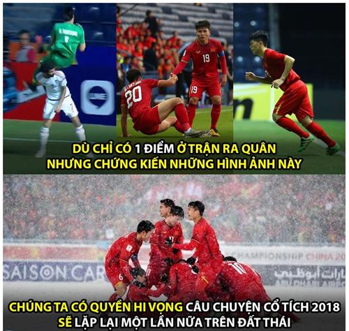 Ảnh chế hài hước trận U23 Việt Nam - U23 UAE2
