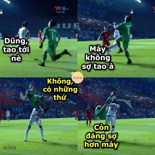 Ảnh chế hài hước trận U23 Việt Nam - U23 UAE