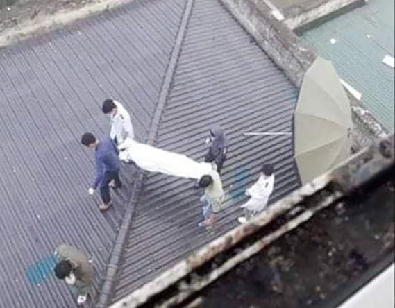 Rơi từ tầng 7 bệnh viện, người đàn ông tử vong trên mái nhà