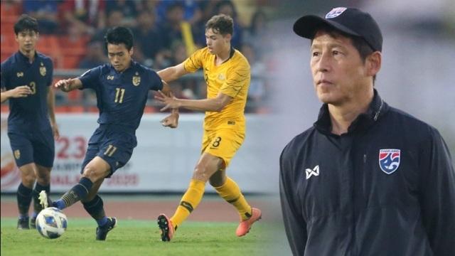 Báo chí Thái Lan không tiếc lời chê HLV Nishino sau trận thua ngược trước U23 Australia