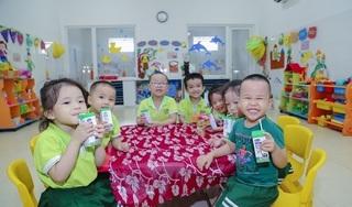 423 trường và nhóm trẻ tại Đà Nẵng đang thụ hưởng chương trình sữa học đường