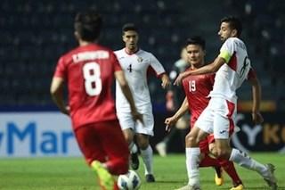 Thi đấu bế tắc, U23 Việt Nam hòa Jordan đáng tiếc
