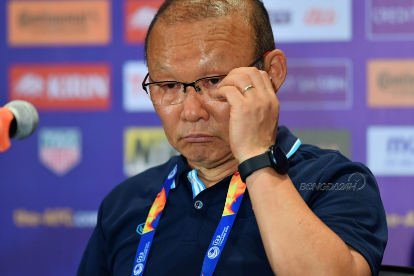 HLV Park Hang Seo thừa nhận U23 Việt Nam gặp khó sau trận hòa U23 Jordan
