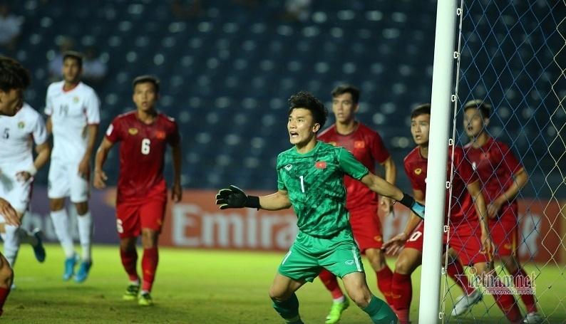 Bùi Tiến Dũng có màn trình diễn ấn tượng ở trận hòa U23 Jordan