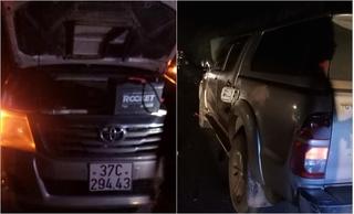 Xe tải đâm tử vong người đàn ông dừng sửa xe bên đường rồi bỏ trốn trong đêm 