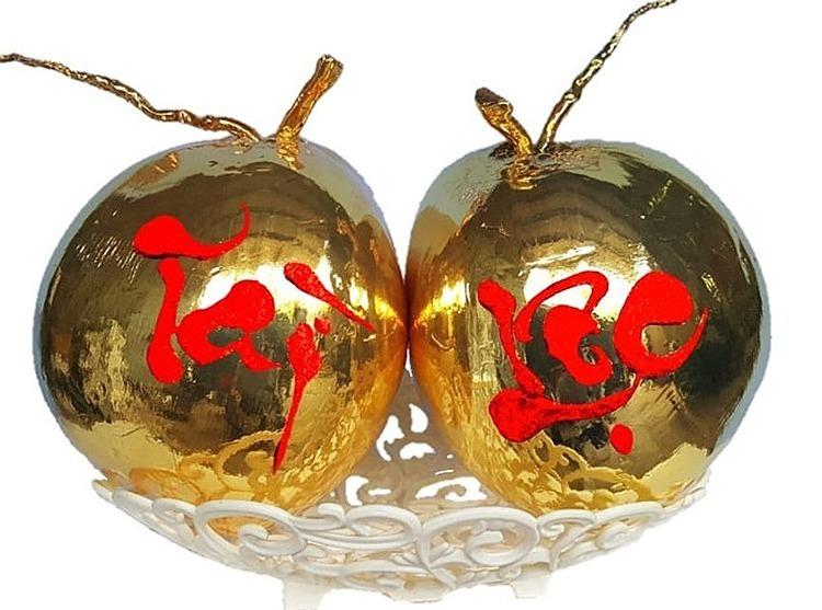 Món quà tết mạ vàng độc đáo dành cho giới nhà giàu năm Canh Tý