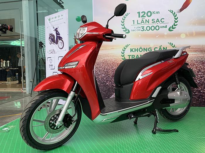 Xe máy điện Pega eSH giá 29,9 triệu đồng tự tin đấu Honda SH