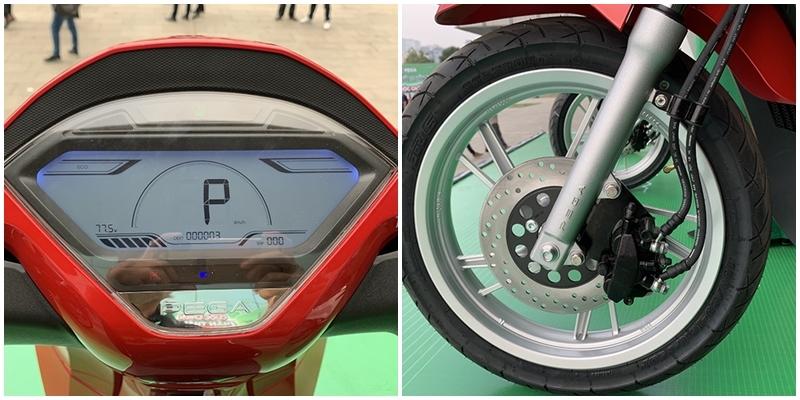 Xe máy điện Pega eSH giá 29,9 triệu đồng tự tin đấu Honda SH2
