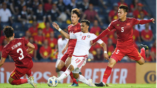 Báo Singapore: 'Nhà Á quân U23 châu Á lại gây thất vọng'